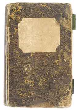 Franz von Aichberger, travel diary of 1836,  cover